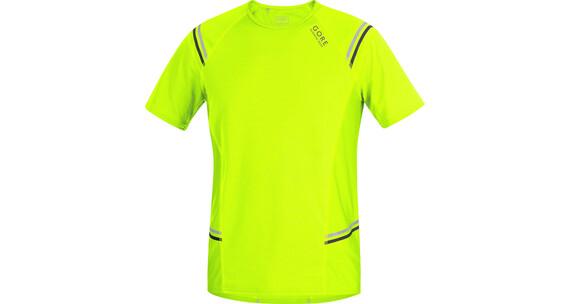 GORE RUNNING WEAR Mythos 6.0 Hardloopshirt korte mouwen Heren geel